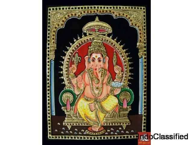Tanjore Painting Material in Chennai - Ethnic Tanjore Arts