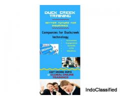 Learn Duck creek online at globalonlinetrainings.com