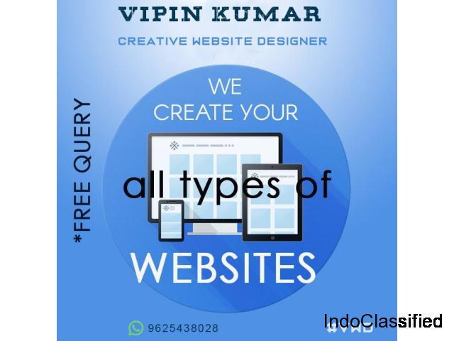 #1 Freelancer For Wordpress Web Design Delhi India