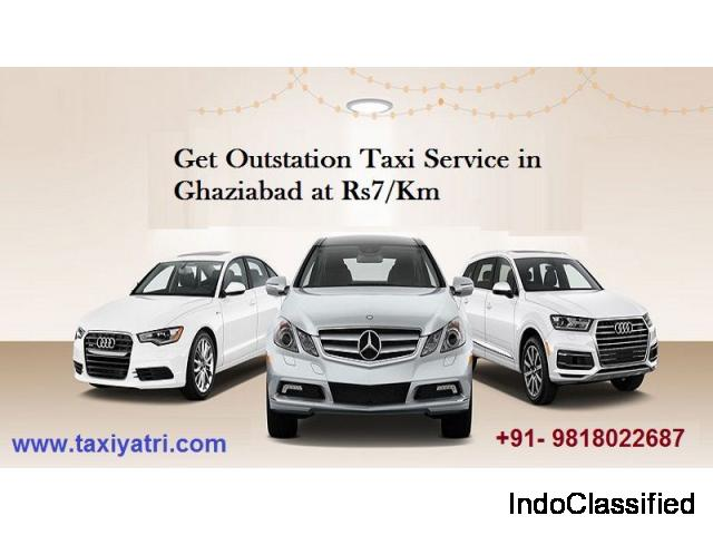 Taxi Service in Ghaziabad, Best Cab Booking in Ghaziabad