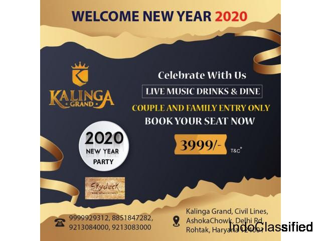 New year Celebrations 2020 Kalinga Grand, In Rohtak