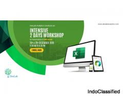 2 Days Workshop: Automation of Spreadsheets in MS Excel.