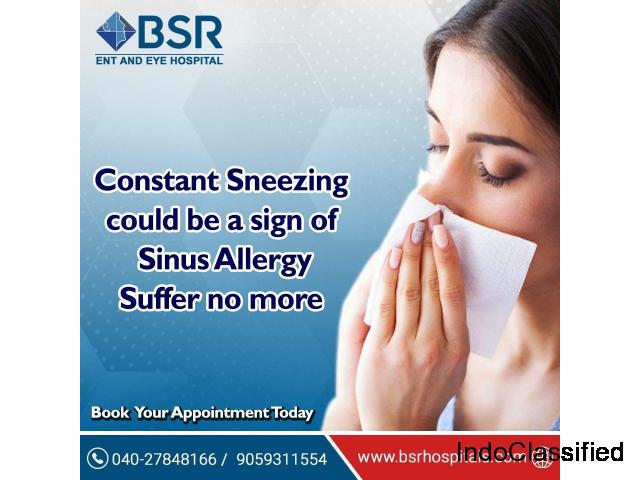 Best Sinus Surgery Treatment In Hyderabad | BSR Hospital