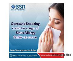 Best Sinus Surgery Treatment In Hyderabad | BSR Hospital