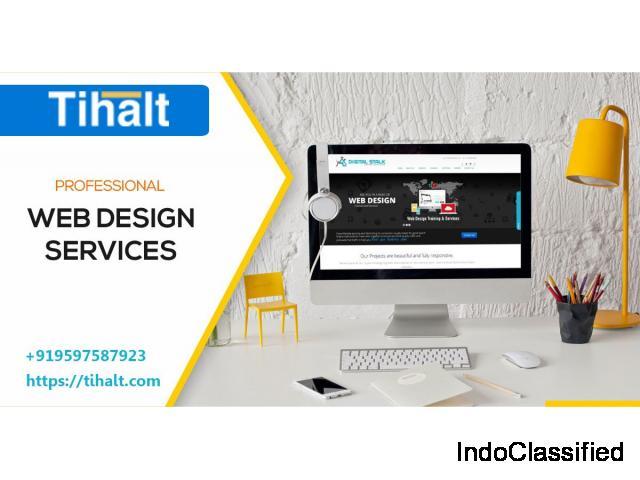 Customized Web Design Company in Bangalore - Tihalt