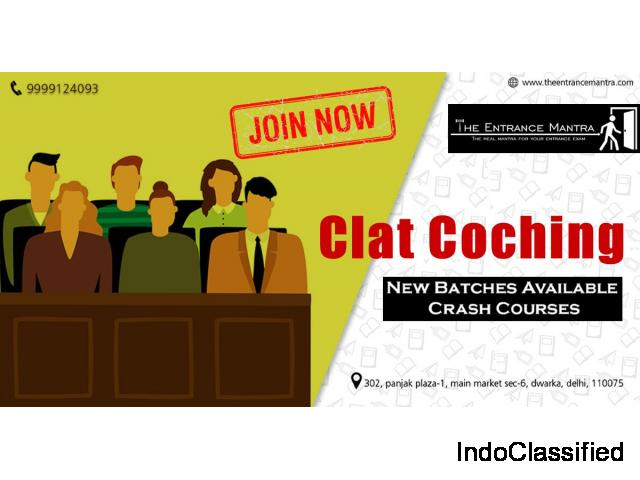 Best CLAT Coaching In Delhi 9999124093