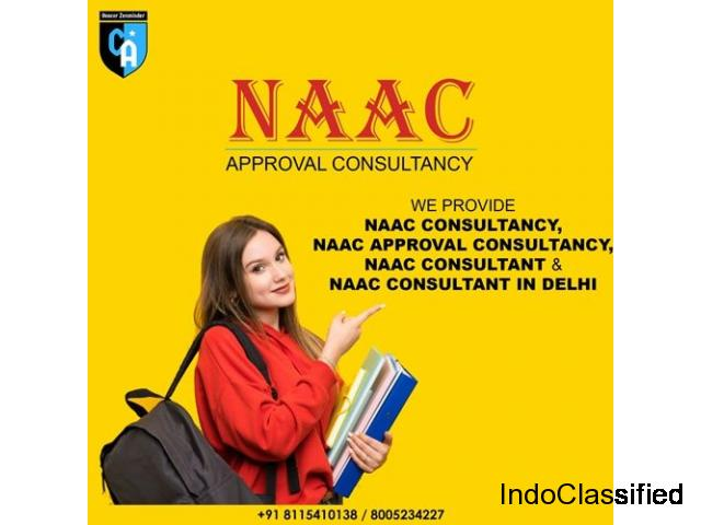 NAAC, NAAC Consultant in Delhi - NAAC Approval consultancy | College Affiliation