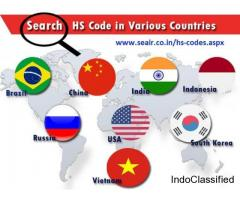 How to Hs Code List Search of the products?