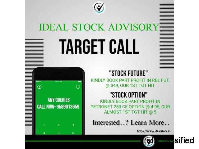 Stock Future Tips with Ideal Stock Investment Advisor