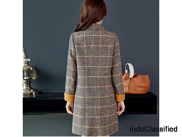 Warm Long Sleeve Jacket for the winter
