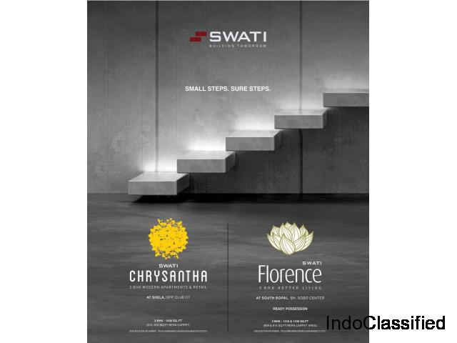 3 BHK Flat in South Bopal | Swati Procon