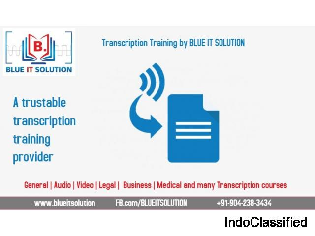 medical transcription training near me-Gandhipuram |BLUE IT SOLUTION|