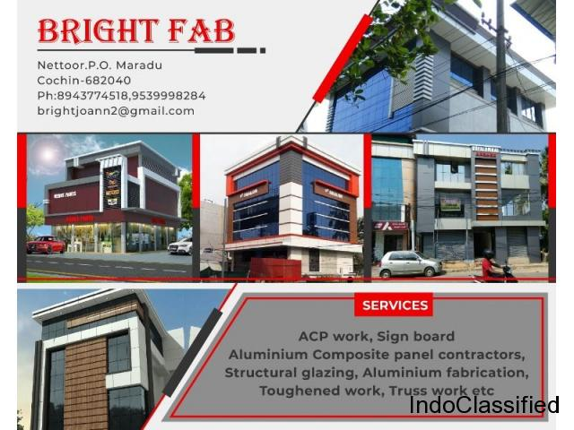 Best Aluminium Fabrication Contractors Kochi Ernakulam Edapally Aluva Angamaly Perumbavoor