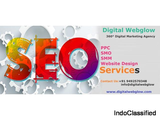 Web design and development services in Hyderabad || Digital Webglow ||