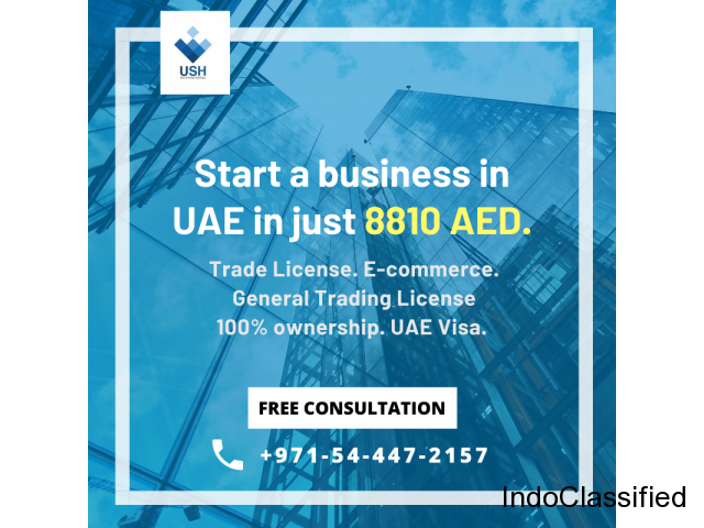 Trade License in UAE in just AED8810 - Call #0544472157