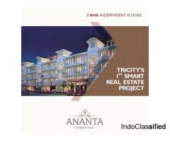 Luxurious 3BHK Independent Flat in Tricity - Ananta Lifestyle