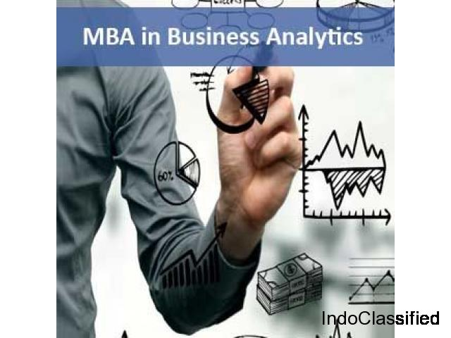 Distance MBA in Business Analytics from Suresh Gyan Vihar University