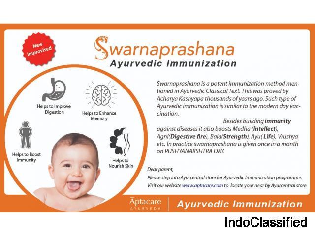 Swarna Prashana | Swarna Bindu Prashana | Swarna Bindu