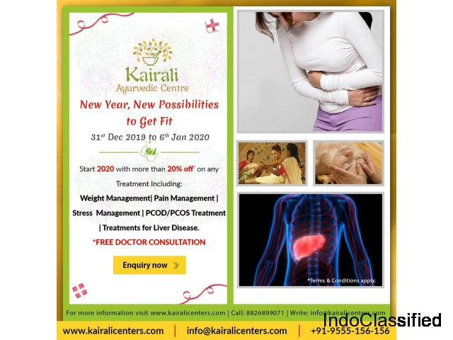 Bringing Merriment and Good Health with New Year Offers 2020 from Kairali Canter