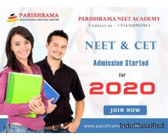 No.1 NEET Academy in Bangalore - Parishrama NEET Academy