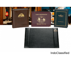 Hospitality menu covers