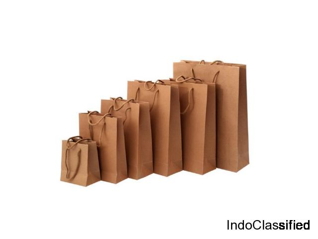 Plain Gift Bags for Food Packaging