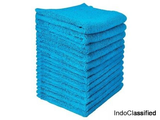Buy Professional Quality Microfiber Towels at Wholesale Price in Bulk at Herndon