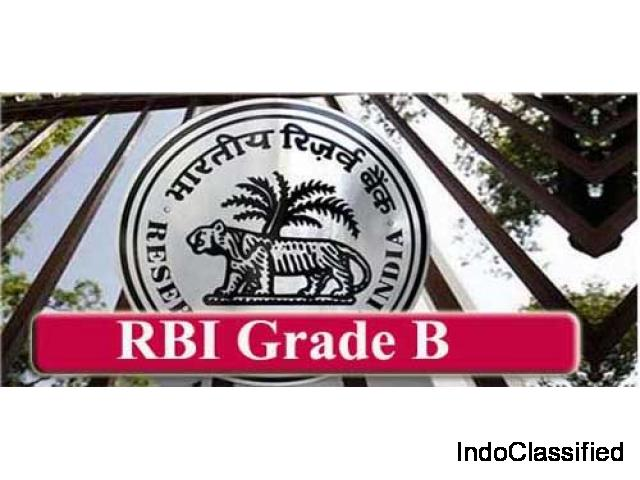 RBI Grade B Online Coaching