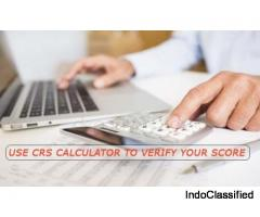 Use CRS calculator to verify your scores