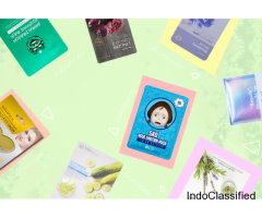 Korean Sheet Mask Subscription boxes in India | Swag Box