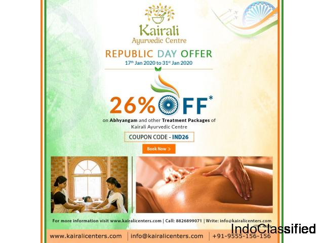 Republic Day Offers On Ayurvedic Treatment Packages