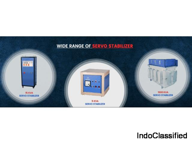 Servo Voltage Stabilizer Suppliers in India