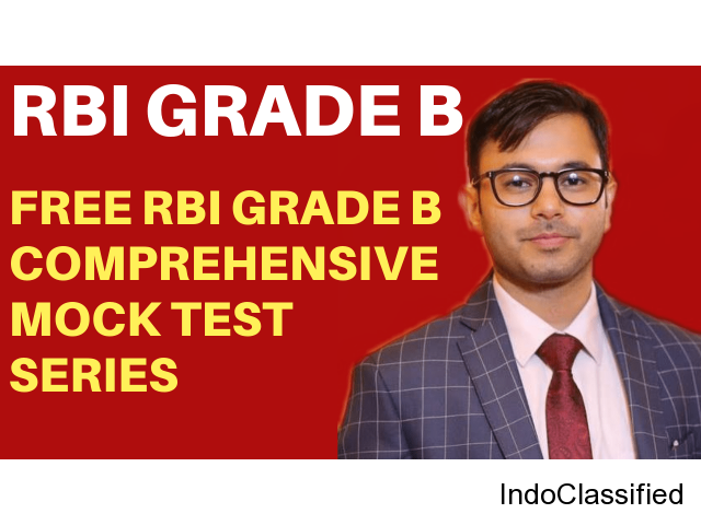 Best RBI Grade B Coaching Online