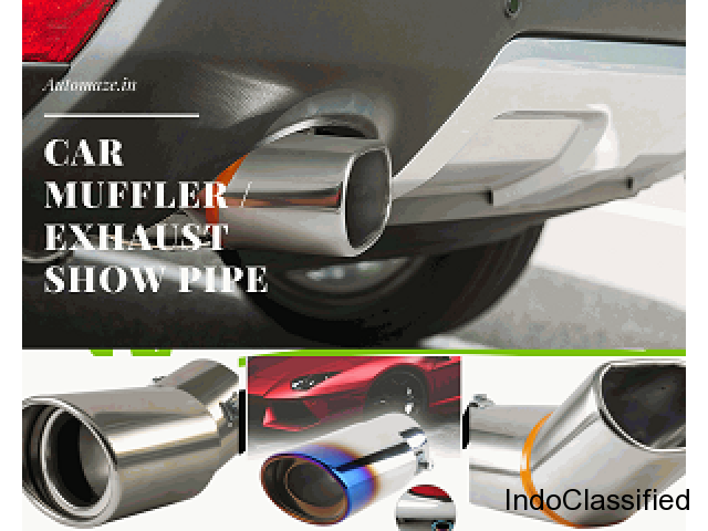 Buy Car Muffler for all cars at best prices in India – Automaze