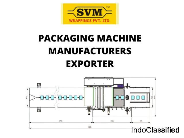 Packaging machinery exporter Mumbai, India - SVM wrapping