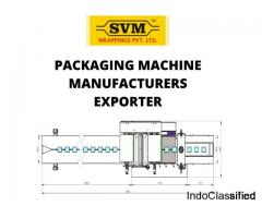 Packaging machinery exporter Mumbai, India - SVM wrapping