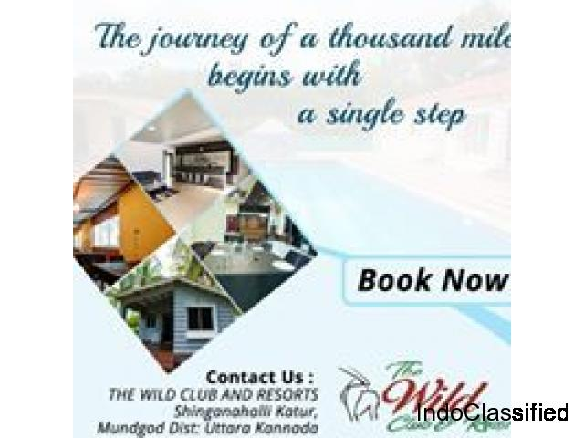 The Wild Club and Resorts near Hubli,Karnataka.