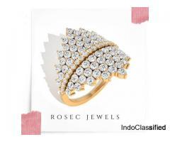 Ladies Statement Engagement Ring,