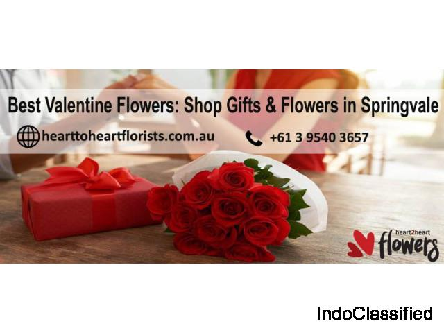 Best Valentine Flowers: Shop Gifts & Flowers in Springvale | hearttoheartflorists.com.au