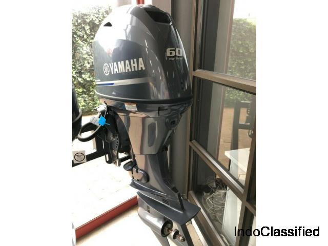 Yamaha 60hp outboard motor engine