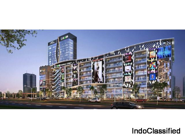 Gaur World Street Mall Commercial Space