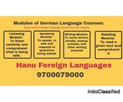 German Languages Course Demo (A1, A2, B1) || Hanu Foreign Languages