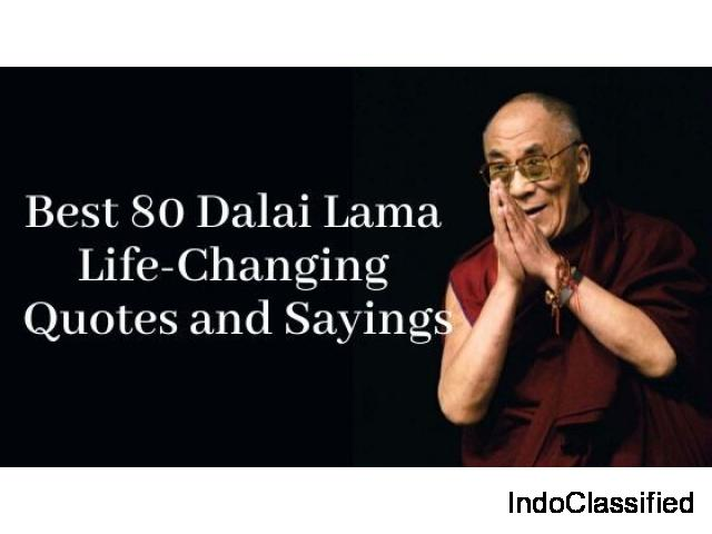 Best Dalai Lama Life-Changing quotes and sayings