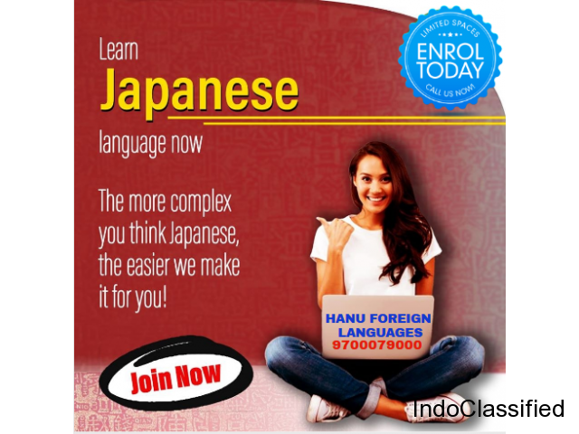 Japanese language course Demo start at Hanu foreign languages