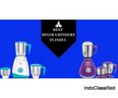 Best Mixer Grinders to Buy in India 2020