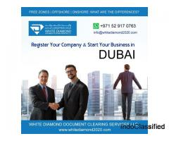 UAE Dubai Company Registration and Mainland LLC/partnership