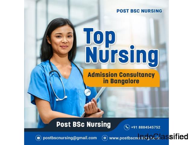 post bsc nursing colleges