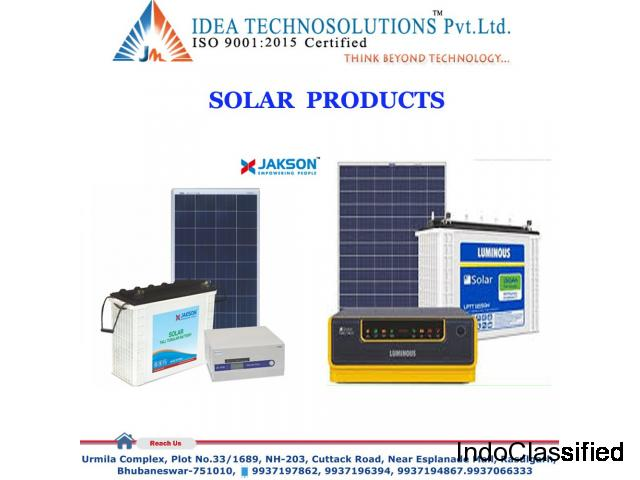 Solar (Jackson/Luminous) Products Distributor Bhubaneswar