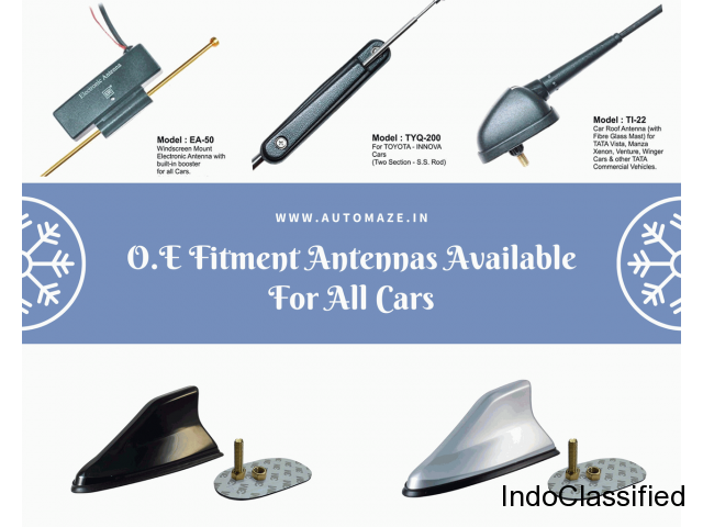 Buy O.E. Fitment Antenna For All Cars