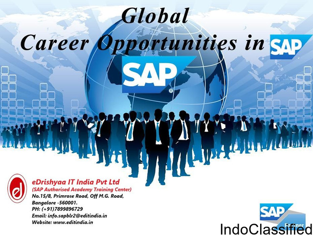 SAP Training & Certifications at eDrishyaa IT India Pvt Ltd